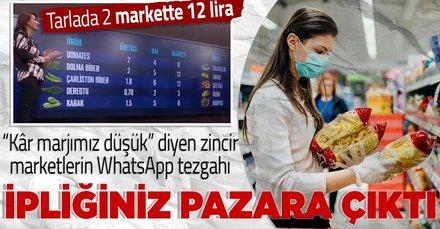 Murat Ülker'in kar marjımız düşük iddiası rakamlarla yalanlandı! Zincir marketler WhatsApp grubundan anlaşıp fiyat mı yükseltiyor?
