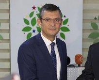 """CHP'li Özel'den HDP itirafı: """"Hemen hemen bütün kaygılarımız ortak!"""""""