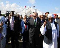 Erdoğanın Sudan ziyaretinde çok çarpıcı olay