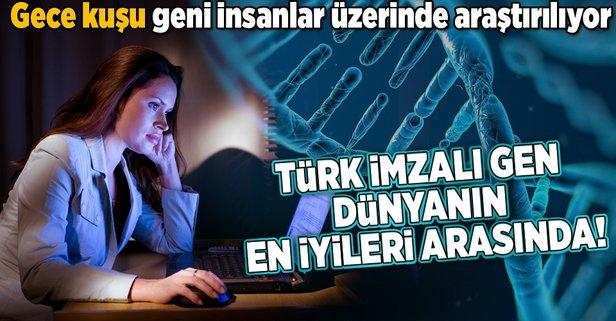 Türk imzalı uykusuzluk geni dünyanın en iyi keşifleri listesinde