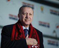 Başkan Erdoğan Erzincan'da halka hitap etti