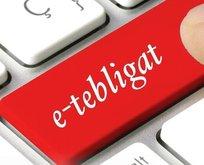 E-tebligat ile 630 milyon lira tasarruf