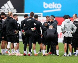 Beşiktaşta Şenol Güneş ve yerli futbolcular TLye geçti