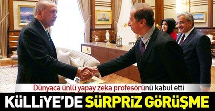 Başkan Erdoğan, dünyaca ünlü yapay zeka profesörü Yaser Ebu Mustafa ile görüştü! Yaser Ebu Mustafa  kimdir?