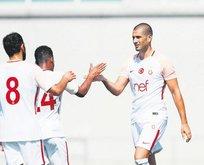 Galatasaray İsviçre'de Eren Derdiyok ile güldü