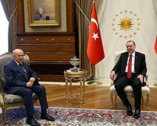 Erdoğan-Bahçeli görüşmesinin tarihi açıklandı