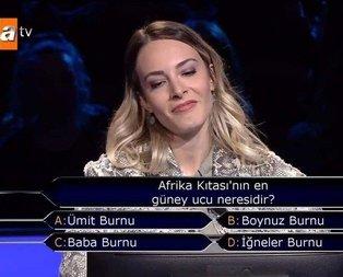 1 milyonluk soruya 1 soru kalmıştı!