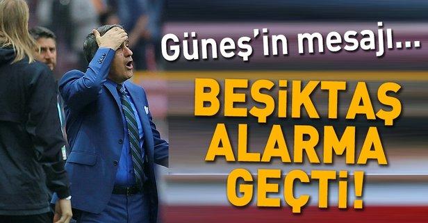 Beşiktaş'ta Güneş alarmı!