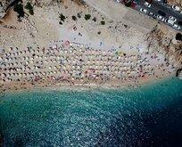 Turizmde bayram bereketi! 400 bin kişi oraya akın etti