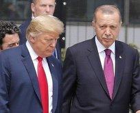 Erdoğan'dan Trump'a 4 mesaj