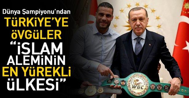 'Türkiye İslam aleminin en yürekli ülkesi'