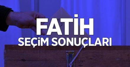 İstanbul Fatih 2019 yerel seçim sonuçları! AK Parti, CHP, İyi Parti, HDP, SP kim önde?