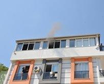 Komşunun evinin yandığını da fark edersin