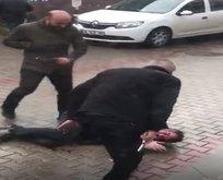 Bursa'da tapu müdürlüğü önünde dehşet