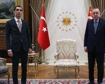 Başkan Erdoğan Muhsin Yazıcıoğlu'nun oğlunu kabul etti