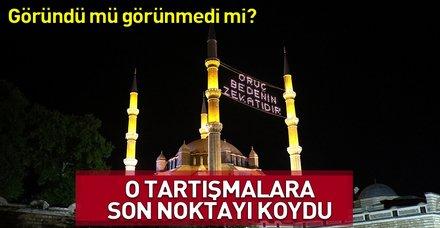 """""""Türkiye'nin ramazan takvimi doğrudur"""""""