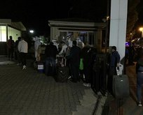 Suudi Arabistan'dan getirilen vatandaşlar yurtlara yerleştirildi