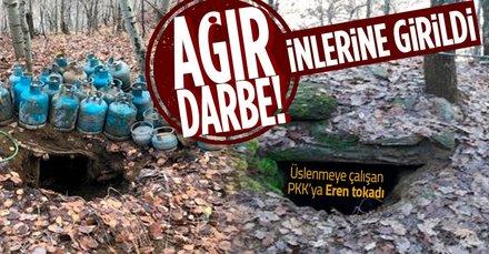 PKK'nın üslenmesine izin yok! Tek tek imha edildi