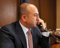 Bakan Çavuşoğlu'na mevkidaşlarından destek telefonu