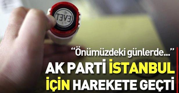 AK Parti'den flaş İstanbul açıklaması