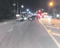 Phuket'te ağlatan kaza
