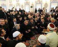 Erdoğan katıldığı mevlidde Kur'an-ı Kerim okudu
