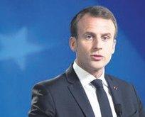 Macron'dan skandal hamle