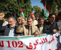 Gazze'de Balfour  protestosu