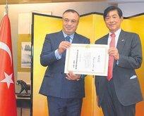 Sagun'a Japonya'dan ödül