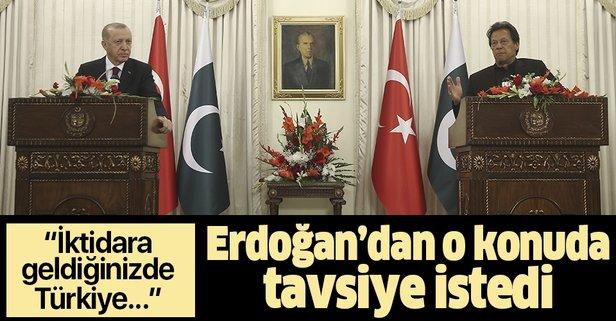 Erdoğan ve İmran Han'dan önemli açıklamalar