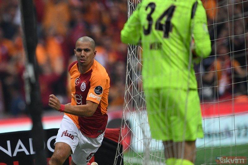 Galatasaray'da Belhanda ve Feghouli kararını verdi