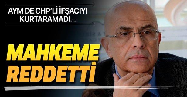 Enis Berberoğlu'nun itirazına red!