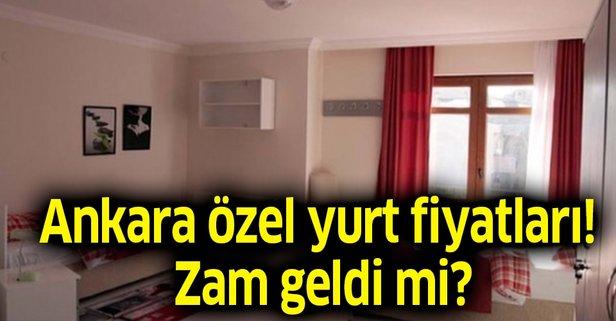 Ankara özel yurt fiyatları ne kadar?