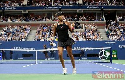 Serena Williams Naomi Osakaya kaybetti olay çıkardı