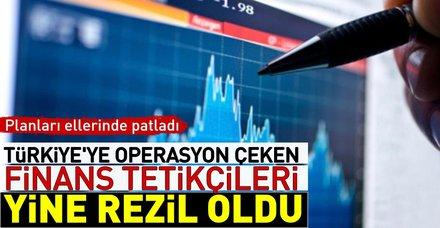 Türk ekonomisine algı operasyonları yine tutmadı