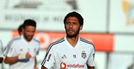 Beşiktaş'ta Abdullah Avcı'dan Elneny'ye tam yetki