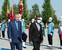 Etiyopya Başbakanı Ahmed'i resmî karşılama töreni