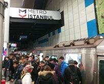 İstanbul'da metro arızası