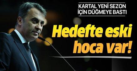 Beşiktaş'ta yönetim yol haritasını belirliyor! Lucescu masada