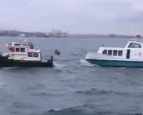 CHP'li İBB'nin Deniz Taksi'si bozuldu kıyıya çekildi