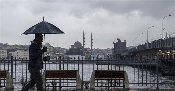 Meteorolojiden İstanbul ve birçok il için yağış uyarısı!