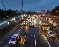 İstanbul'da trafiği felç eden olay!
