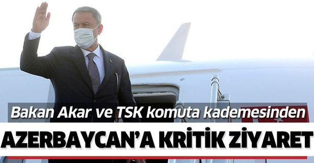 Milli Savunma Bakanı Hulusi Akar Azerbaycan'da