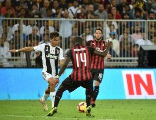 Ronaldo Çalhanoğlu'nu üzdü! İtalya'da Süper Kupa Juventus'un