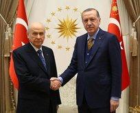 Erdoğan ve Bahçeli arasında kritik görüşme