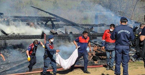 Kastamonu'da acı olay! Evinde yangın çıkan engelli vatandaş hayatını kaybetti