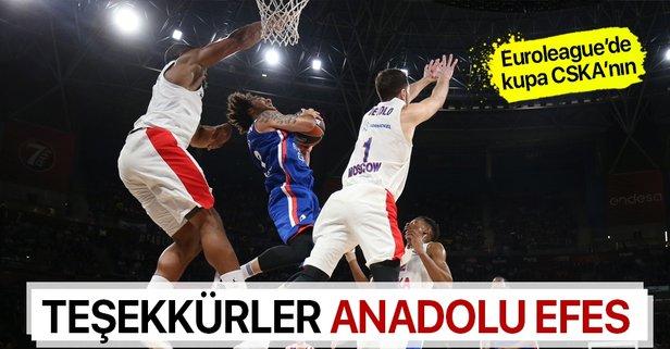 Anadolu Efes Avrupa ikincisi!
