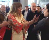 Havalimanında hakarete uğramıştı! İfadesi ortaya çıktı