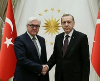 Başkan Erdoğan, Alman Cumhurbaşkanı ile görüştü