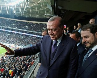 Cumhurbaşkanı Erdoğan Portonun golünden sonra ne dedi?